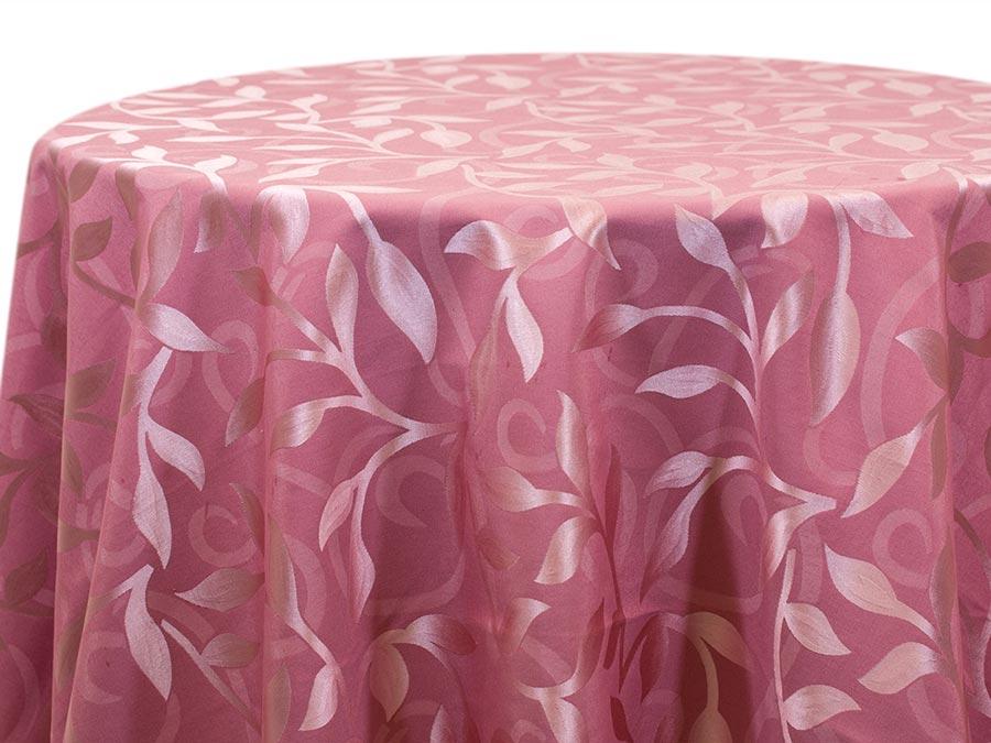 Casablanca Leaf – Pink (Reverse)