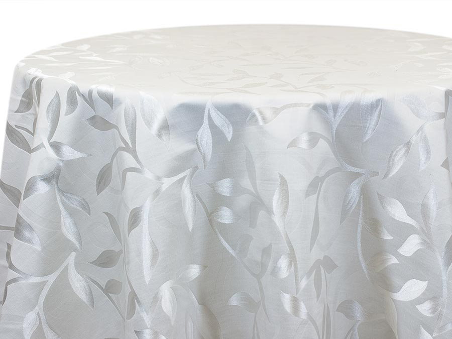 Casablanca Leaf – White (Reverse)
