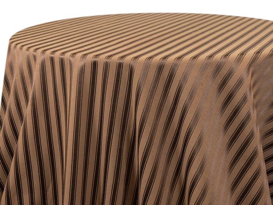 Casablanca Stripe – Mocha (Reverse)