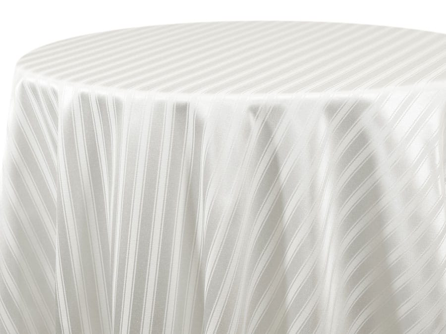 Casablanca Stripe – White