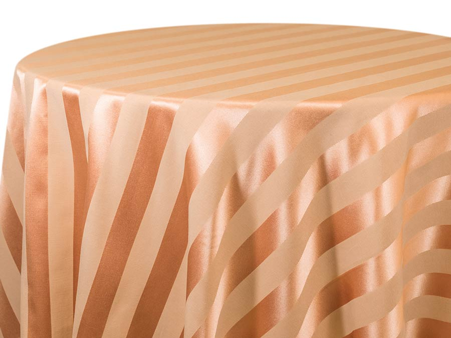 Chartres Stripe – Coral Light Curry