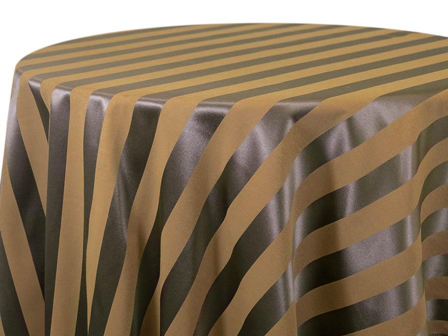 Chartres Stripe – Mocha Clay
