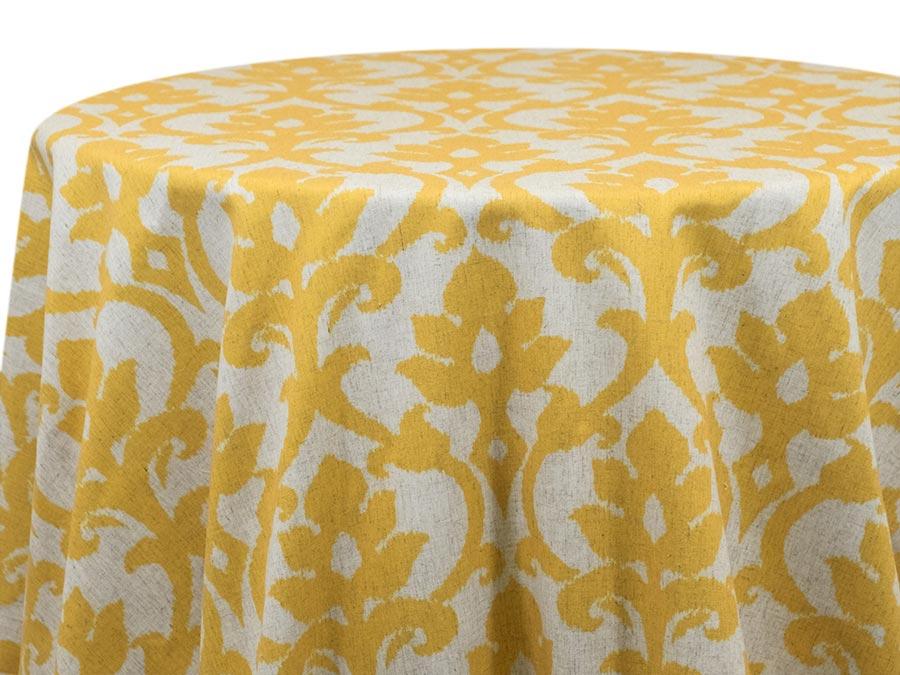 Ikat Raw Silk – Yellow