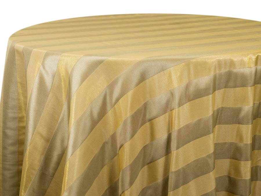 Organza Stripe – Beeswax
