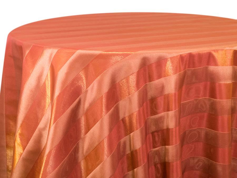 Organza Stripe – Paprika