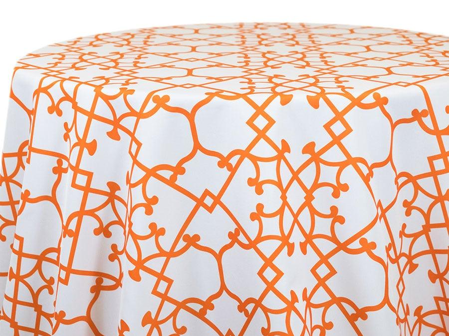 Tray Graphic – Pumpkin on White