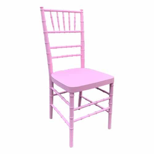 Pink Chiavari Ballroom Chair