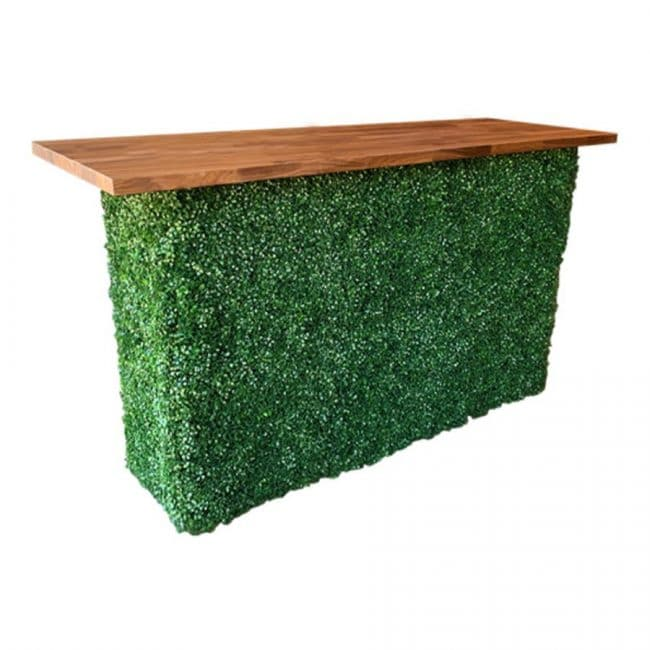 Faux Hedge Bar