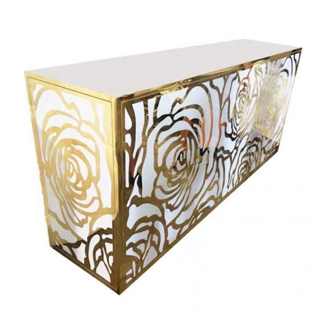 Gold Rose Designer Bar