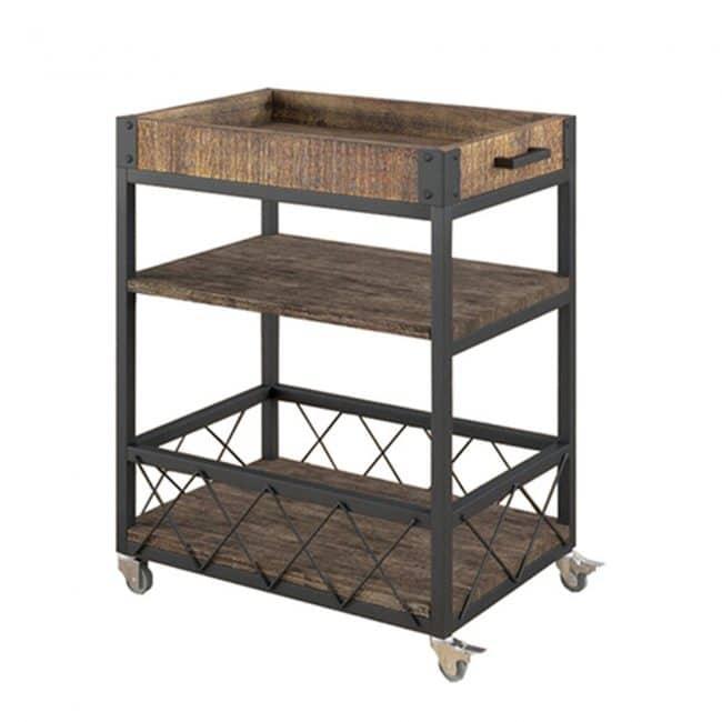 Rustic Bar Cart