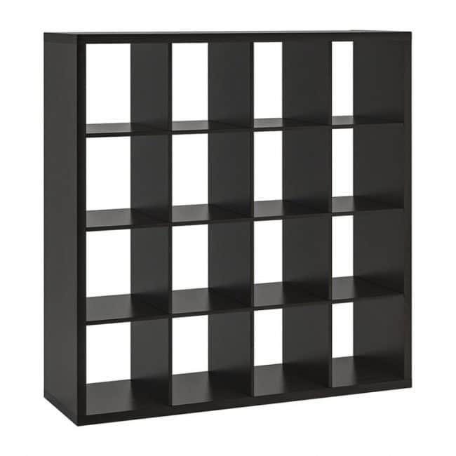 5′ Square Cubby- BLACK