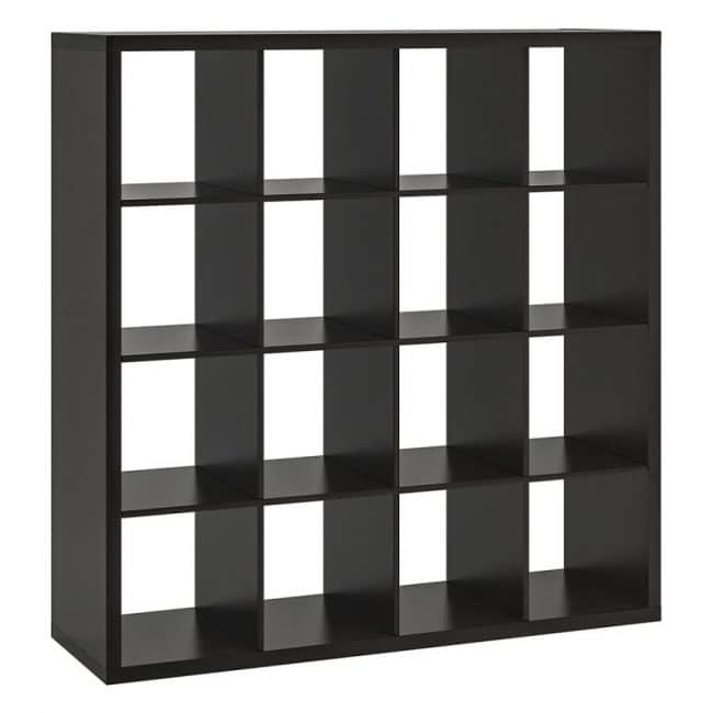 5′ Square Cubby- BLACK