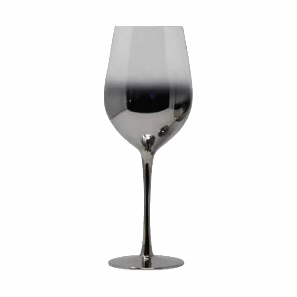 21oz Ombre Silver Water Glass